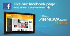 Like us on Facebook or spend 10 Eur or more, including postage, at toystores.ie between 1st to 31st October and be in with a chance to win a Arnova 9 G3 10 inch, 8 GB tablet worth €180. This tablet is suitable for age 9+.