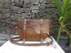Mine&Hers Forest Bag. Combination of leather and brown feeling.  Ready stock