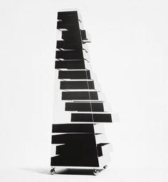 Shiro Kuramata / 1968 Pyramid Furniture