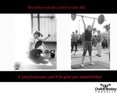 CrossFit Before and After Photos from ChalkMonkey CrossFit gym in Pasadena TX