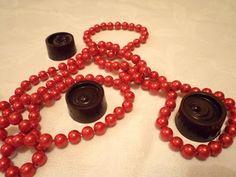 Karácsonyi bonbon (nyers!) Washer Necklace, Jewelry, Candy, Jewlery, Jewerly, Schmuck, Jewels, Jewelery, Fine Jewelry