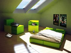 Boys room on pinterest minecraft minecraft room and for Furniture configurations for small spaces