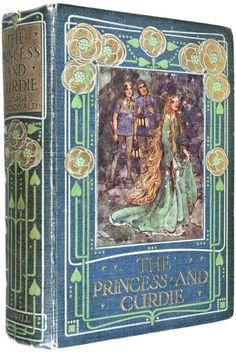 'The Princess and Curdie' by George MacDonald, illustrated by Helen Stratton. Published 1912 by Blackie and Sons, London.