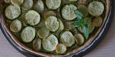 torta salata patate e zucchine