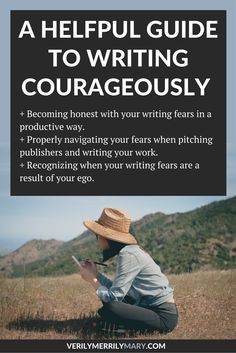 A Guide to Help You Write Courageously