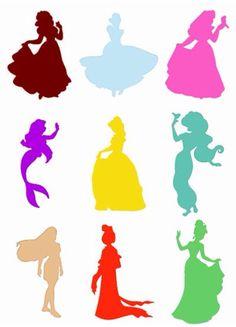 Princess outlines