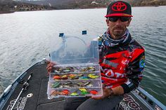 mike iaconelli shows off his favorite springtime crankbaits for bass fishing