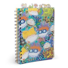 Writing skills might be very limited as a baby, but as a grown human being you can probably figure it out. Reptar or Spike may have trouble, though. Rugrats Characters, Cool Notebooks, Journals, Rugrats All Grown Up, Vintage Lunch Boxes, Photography Pics, Diy Notebook, 90s Childhood, Cute Backpacks