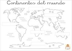 Looking for a printable coloring map of the seven continents? Then you are in the right place. We have custom designed just such a map just for you. Free Printable 7 Continents Coloring Map When traveling the … Geography For Kids, Geography Map, Geography Lessons, Maps For Kids, Teaching Geography, World Geography, Geography Activities, World Map For Children, Geography Quotes