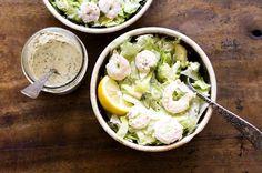 Shrimp and avocado salad remoulade dressing   Homesick Texan