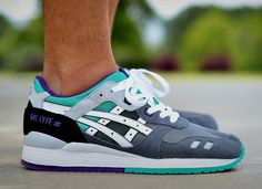 Asics Gel Lyte 3 Grey/White/Mint