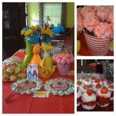 Dr. Seuss themed party