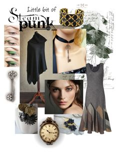 """""""Little bit of Steampunk"""" by landoflaces on Polyvore featuring moda, Burberry, Copper Key i 10 Crosby Derek Lam"""