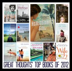 Great list of the top #books of 2012- I want to read the orchid house, Mr. McCoy and Shoemaker's Wife