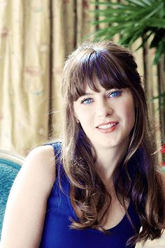 Zooey Deschanel - I want this hair