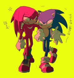 Sonic & Knuckles, Echidna, Amy Rose, Sonic Boom, Sonic The Hedgehog, Universe, Ships, Fandom, Characters