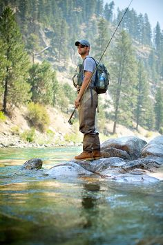 Matt on the Payette just taking it in, by Grant Taylor