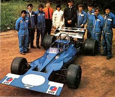 Tyrrell 001 launch 1970