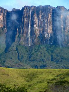 Cuquenan (or Kukenan or Kukenaam; 670 m, the second tallest in the world) Falls - Venezuela