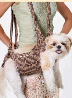 Puppy purse!  ha ha