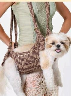 Puppy purse!  ha ha