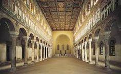 Ravenna, basilica di San't Apollinare Nuovo, inizio Vi secolo.