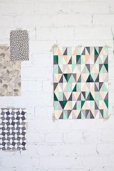 great invite Pattern / Color Me Pretty pretty Graphic design Motifs Textiles, Textile Patterns, Geometric Patterns, Geometric Prints, Quilt Patterns, Pretty Patterns, Color Patterns, Surface Pattern, Surface Design