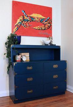 Campaign Furniture - Blue