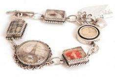 Parisian Charm Bracelet | AllFreeJewelryMaking.com
