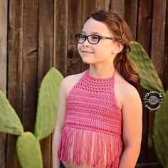 The Crochet Ella Crop Top