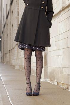 polka dots + ankle straps