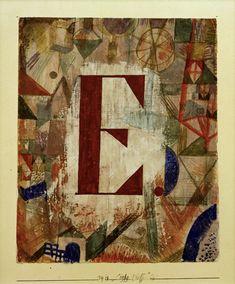 Paul Klee - E, 1918