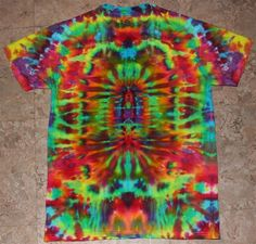 Don't care how old I get...always love me some tie dye.
