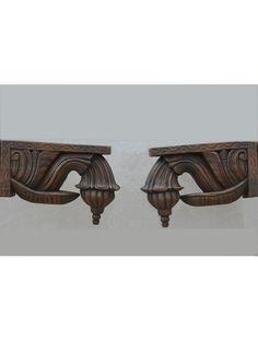 Chettinad Type Wooden Bodhil Brackets