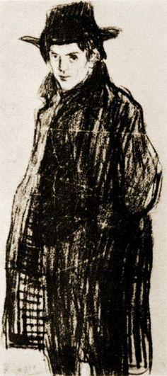 Pablo Picasso, Self-Portrait, 1906
