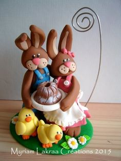 Easter card /picture holder