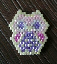 Brickstitch owl