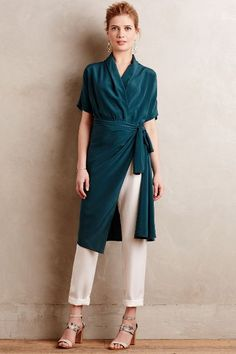 Wrapped Silk Blouse - anthropologie.com