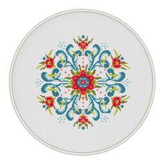 Vintage Design Cross Stitch Pattern cross por MagicCrossStitch