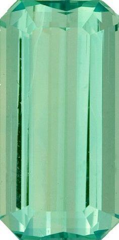 Green Beryl Loose Gemstone, Octagon Cut, 17.2 x 8.6 mm, 7.01 Carats at BitCoin Gems