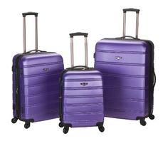 Rockland Luggage Melbourne 3 Piece Abs Luggage Set, Purple, Medium Rockland http://smile.amazon.com/dp/B004FMEEIS/ref=cm_sw_r_pi_dp_yWUrub1YNMGAR
