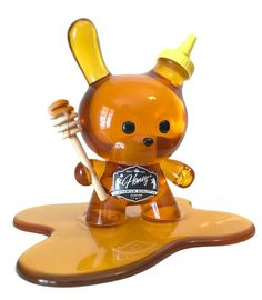 toy art Sket One announces pre-order for his Honey Dunny resin art multiple! 3d Figures, Vinyl Figures, Action Figures, Vinyl Toys, Vinyl Art, Toy Story Shirt, Toy Packaging, Robots For Kids, Toy Display
