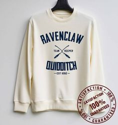 Ravenclaw Quidditch Sweater ($30)