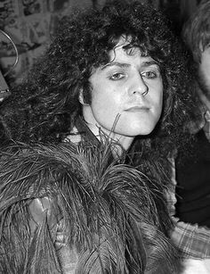 """Marc Bolan at the premier of """"Born to Boogie."""""""