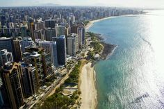 Fortaleza, Brazil – 2011 - 18 Cities That Have Changed Beyond Recognition Best of Web Shrine Beaches In The World, Places Around The World, Around The Worlds, Best Places To Travel, Places To Visit, Brazil Facts, Beach Park, Vacation Destinations, Belle Photo