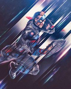 Steve Rogers or Captain America, fan art by Masaolab : Marvel
