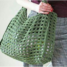 Crochet bag crochet t – Artofit Bag Crochet, Crochet Market Bag, Crochet Handbags, Crochet Purses, Love Crochet, Crochet Crafts, Crochet Stitches, Diy Crafts, Knitting Patterns