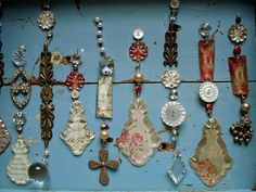 Image result for chandelier pieces repurposed