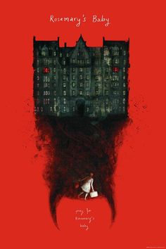 "kogaionon: ""  Rosemary's Baby by Jana Heidersdorf / Facebook / Behance / Twitter / Tumblr / Instagram / Etsy / Society6 24"" x 36"" officially licensed screen print, numbered edition of 100. Available from Bottleneck Gallery on Monday, October 31st at..."