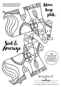 St Louis, Diy For Kids, Crafts For Kids, Catholic Crafts, Saint Nicolas, Kids Daycare, Toddler Activities, Coloring Pages, Cool Pictures